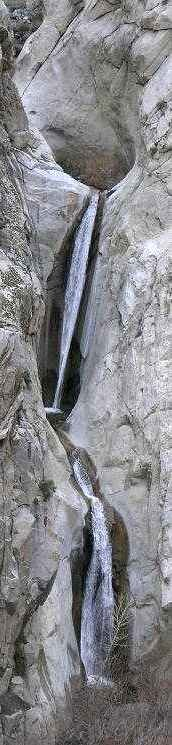 Eastern Sierra waterfalls